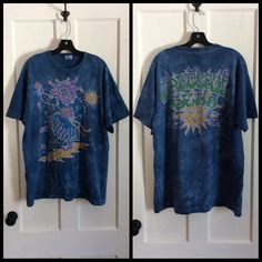 A personal favorite from my Etsy shop https://www.etsy.com/listing/227062801/vintage-1990s-grateful-dead-jester-t