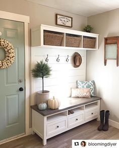 How amazing is this IKEA media unit hack?! It has been transformed by @bloomingdiyer to create a stylish yet functional storage piece. #diy…