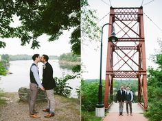 Two grooms and a wedding // Emily Elizabeth Events + A love supreme photography + Pretty Flowers Maine + Joseph's + Mizu