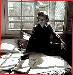 Marguerite Duras,1955, by Robert Doisneau