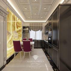 Tiny Moscow Apartment Design – Maria Green – Interior Designer Compact Living, Tiny Living, Living Room, One Room Apartment, Apartment Design, Luxury Interior, Interior Design, Decorative Plaster, White Doors