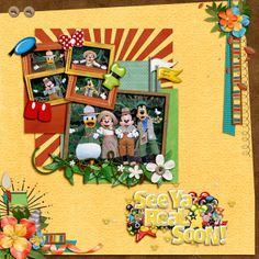 General Camp Minnie Mickey - Page 4 - MouseScrappers.com