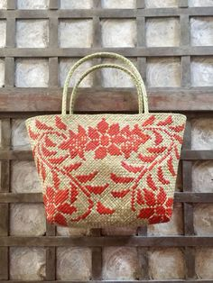 Bask in the beauty of our nature designs for bags. Eco Friendly Bags, Aba, Fair Trade, Philippines, Straw Bag, Floor, Business, Nature, Handmade
