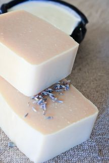 Lavender Lemon Yogurt Soap Recipe (CP)
