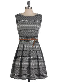Modcloth Tis a Shift to Be Simple Dress in Mosaic. $52.99