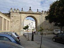 Jerez de la Frontera: Puerta de Rota.