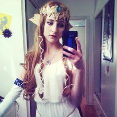 Zelda This is great! - i need to make this outfit. Princess Zelda Costume, Legend Of Zelda Costume, Cute Halloween Costumes, Diy Costumes, Cosplay Costumes, Halloween 2016, Costume Ideas, Cosplay Tutorial, Cosplay Diy