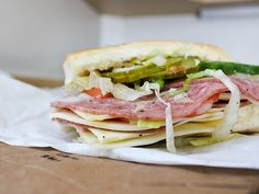 "Today's Sandwich: ""Big John"" (Vespucci's)"
