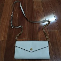 Michael kors 'Colorblock' Saffiano Crossbody Bag Perfect condition used maybe twice comes from a smoke free home. Color is an off-white leather. MICHAEL Michael Kors Bags Crossbody Bags