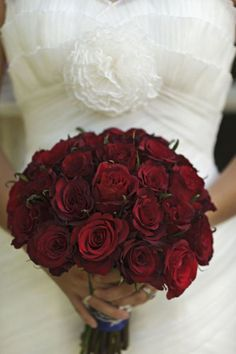 Wedding bouquet, Burgundy bouquet, Bouquet with roses...other oxblood and maroon tones....