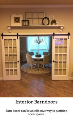 how to build a barn door for inside