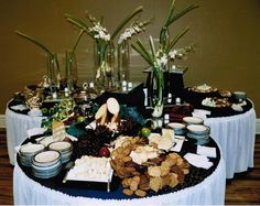 Food Display Ideas for Receptions | Weddings Receptions Foods Tables Display | Event Gallery › Michaels ...