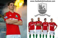 Swansea Centenary Away Kit for Premier League 2012/2013 // so welsh.