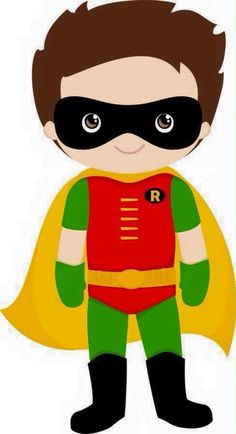 super her is minus alreadyclipart super hero s pinterest rh pinterest com batman and robin clipart free
