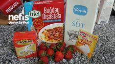 Orjinal Magnolia Tarifi - Nefis Yemek Tarifleri Snack Recipes, Snacks, Frosted Flakes, Caramel, Oatmeal, Chips, Breakfast, Magnolia, Recipes