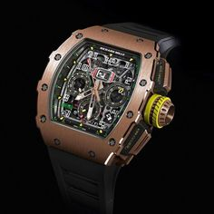 Introducing the All Introducing the All Introducing the All NEW Design Richard Mille RM11-03 Automatic Flyback.
