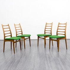 Set of four 1960s dinner chairs - Karlsruhe