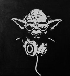 'Yoda, 12 x 12 Canvas Art' is going up for auction at 11am Thu, Jun 7 with a starting bid of $20.