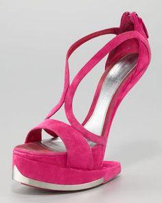 shopstyle.com: Alexander McQueen Runway Platform No-Heel Sandal