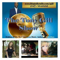 tgill tony gill show feat music comedy authors