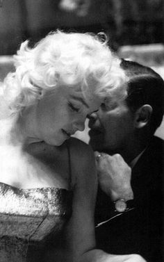 Marilyn and Milton Berle in 1955