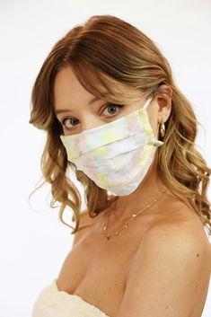 Face Mask – Tiare Hawaii Easy Face Masks, Diy Face Mask, Hawaii Dress, Yellow Sky, Short Waist, Christen, Diy Mask, Fashion Face Mask, Mask For Kids