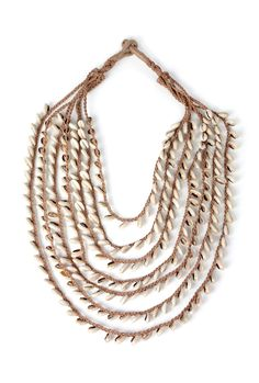 Day Birger et Mikkelson - Shell necklace £69