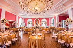 coral and gold weddings - Google Search