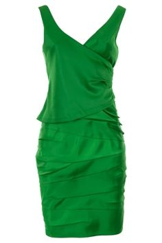 Love the color and style!  I want to wear this.  To something.  Anything!