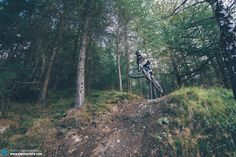 Yeow! The Canyon Spectral is a bike that loves to be thrown around at every pop and jump, it's  great fun!