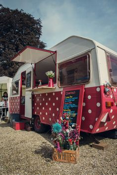 Spotty food caravan :0)