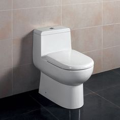 Buy the Eago White Direct. Shop for the Eago White / GPF Dual Flush Toilet One Piece Elongated Toilet - Includes Slow Closing Seat and save. Home Renovation, Home Depot, Ideas Baños, Decor Ideas, Contemporary Toilets, Contemporary Decor, Dual Flush Toilet, Steam Showers, Thing 1