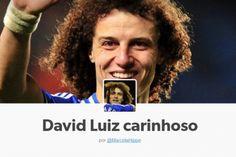 Tumblr 'David Luiz carinhoso' faz sucesso na internet após jogo entre Brasil e Colômbia
