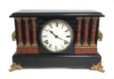 shopgoodwill.com: Vintage Mantle Clock-Pendulum