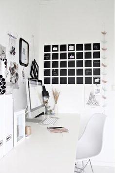 7 Easy #DIY Chalkboard Paint Ideas: Chalkboard Paint Wall Calendar