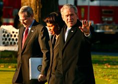 Condoleezza Rice George W Bush Photos: President Bush Departs White House For South American Trip