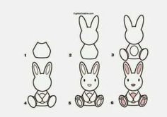 Fun, printable step by step drawing lessons for kids! Learn how to draw animals, cars, trees and flowers and more with an easy, step by st. Tree Drawing Simple, Easy Drawing Steps, How To Draw Steps, Step By Step Drawing, Learn To Draw, Doodle Drawings, Easy Drawings, Animal Drawings, Drawing Lessons For Kids