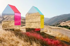 Standing quite alone in Lebec, Calif., are these two elegant mirrored structures, each refracting light across the open prairie of Tejon Ranch. Built by artist Autumn de Wilde—more commonly known...