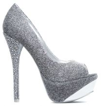 Add Some Sparkle to Your Fall and Winter Ensembles With the Shimmery 'Sherine' Pump