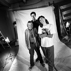 Nirvana during the Alternative Press  magazine cover shoot, 1993