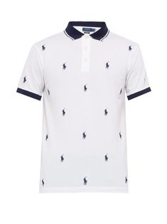 The most popular men's Ralph Lauren polo shirts are the most striking and invaluable addition to your outerwear collection. Embroidered Polo Shirts, Printed Polo Shirts, Polo T Shirts, Collar Shirts, Ralph Lauren Mens Shirts, Polo Ralph Lauren, Rauph Lauren, Polo Shirt Outfits, Pique Polo Shirt