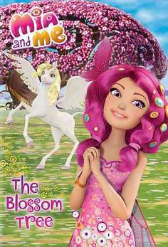 This release of MIA AND ME a children's program about a girl that transforms into an elf and travels to a magical land where she helps protect unicorns contains two stories: THE BLOSSOM TREE and ALL T