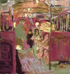 The Metro Car ~ Édouard Vuillard