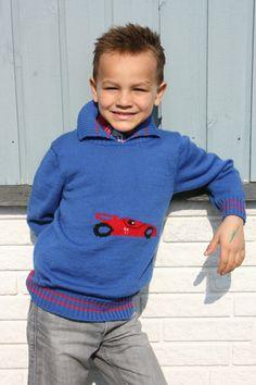Drenge sweaters str 8 år Fremstillet i ren uld Pris 400 kr