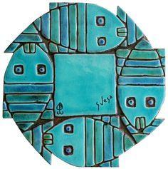 Fish ceramic wall art
