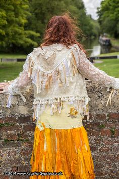 189870a4587 Saiforella Ragged and Tattered handmade Gypsy by RagsForGypsies