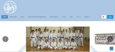 Greece Shotokan Karate new website. With event enrollment