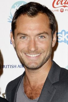 Jude Law - Smart, funny, handsome, and British. He also played Dr. Watson. C'mon!