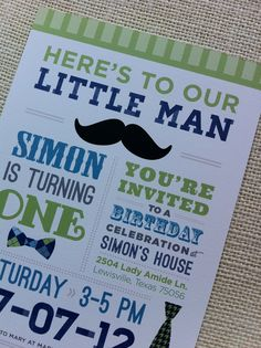 bow ties and tie themed party invitations. Definitely using for Tyler Little Man Party, Little Man Birthday, Baby Boy 1st Birthday, Birthday Board, Boy Birthday Parties, Birthday Ideas, Christening Invitations, Birthday Party Invitations, Twins 1st Birthdays