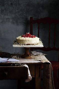 Tarta de chocolate blanco by Raquel Carmona